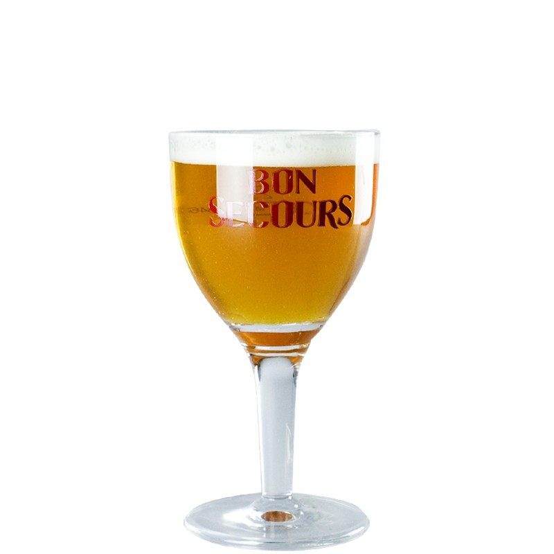Beer Glass 33cl Bon Secour - Chalice Glass