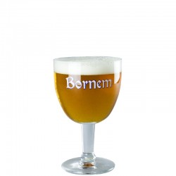 Beer glass Bornem 33cl - glass chalice
