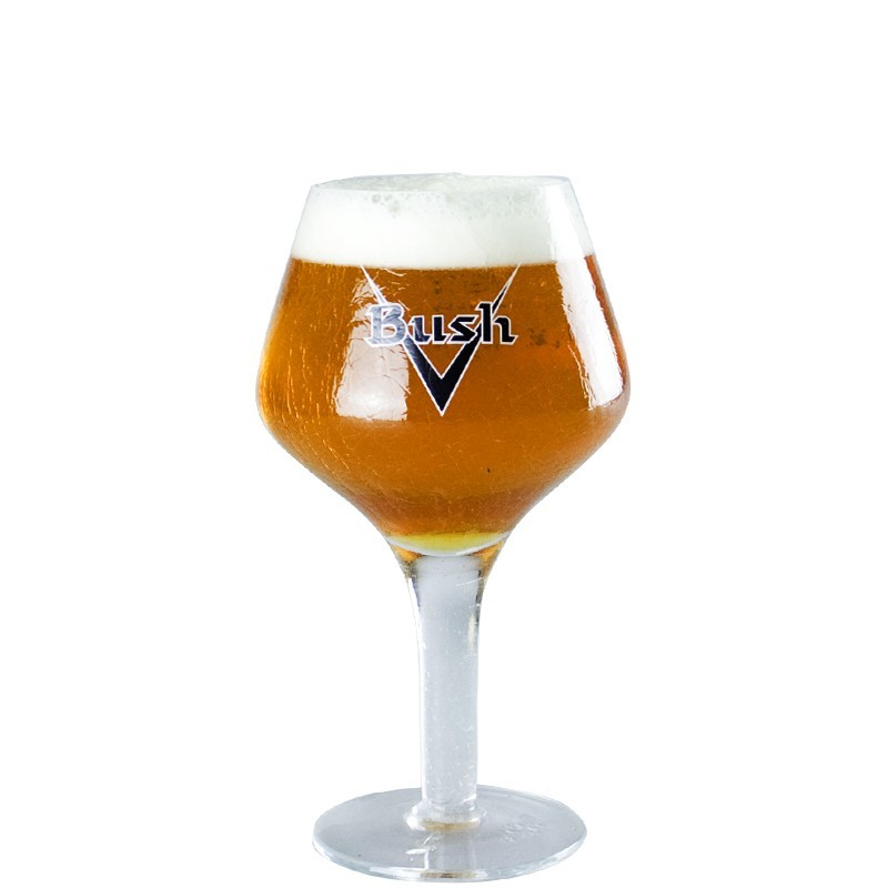 Bush 33cl Beer glass - Glass Chalice
