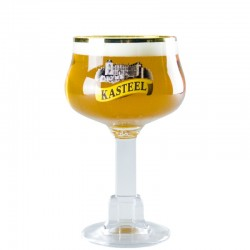 Beer glass Kasteelbier 33 cl - Chalice glass