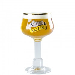 Beer Glass Kasteelbier 25 cl - Glass Chalice