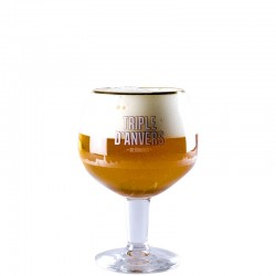 Beer glass Triple d'Anvers 33 cl