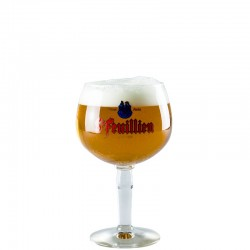 Beer glass Saint Feuillien 25 cl - Chalice glass