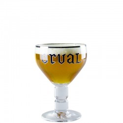 Orval beer glass 33cl - Chalice Glass