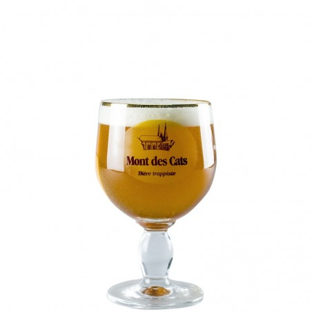 Beer Glass 33cl Mont des Cats - Chalice Glass