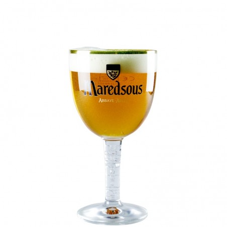 Beer glass Maredsous 25 cl - Glass Chalice