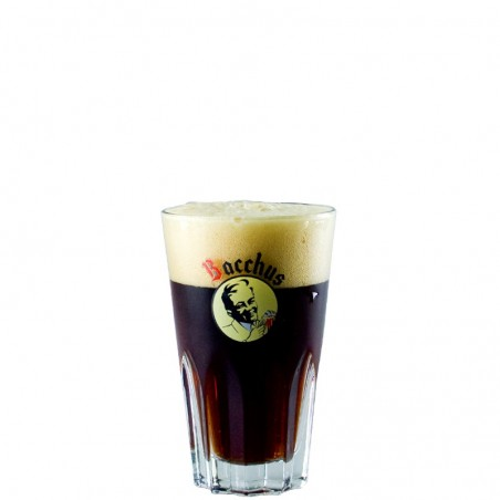 Bacchus Beer glass 33 cl - faceted glass
