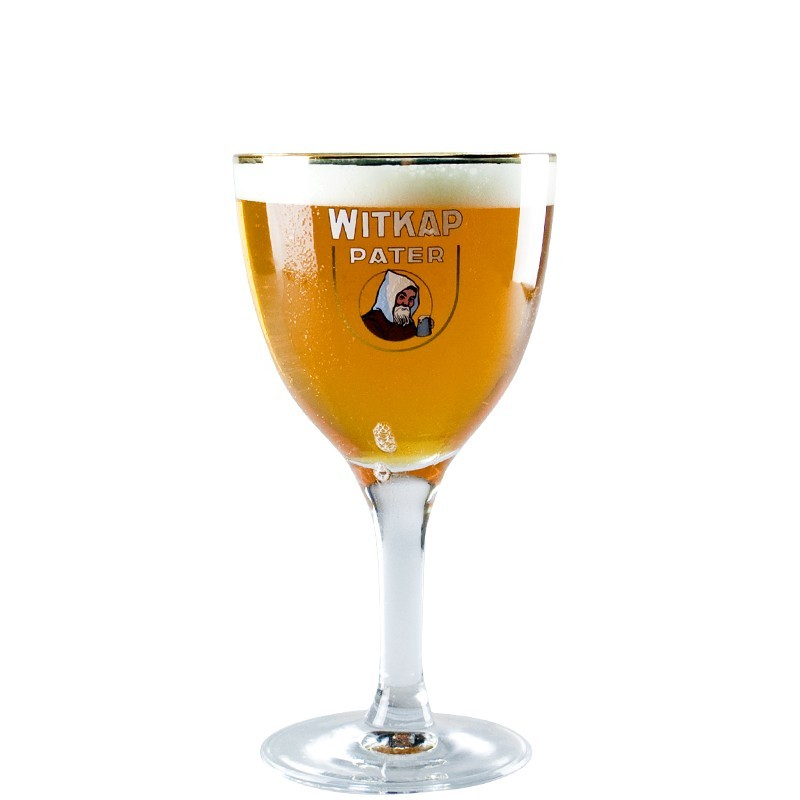 Beer Glass Witkap 33 cl - Glass Chalice