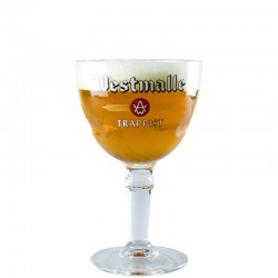 Beer glass Westmalle 33cl - Glass Chalice
