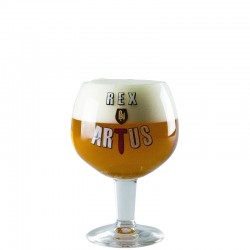 Beer glass Rex Artus 33 cl - Chalice glass