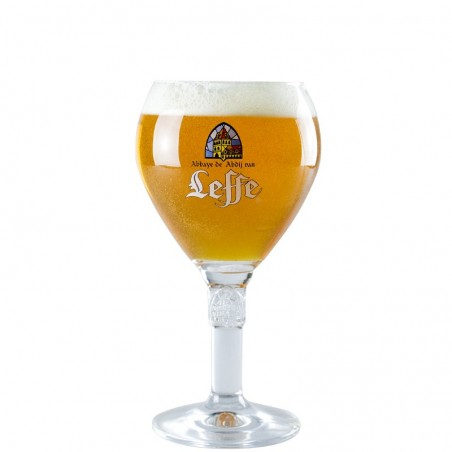 Leffe beer glass 33 cl - Chalice Glass