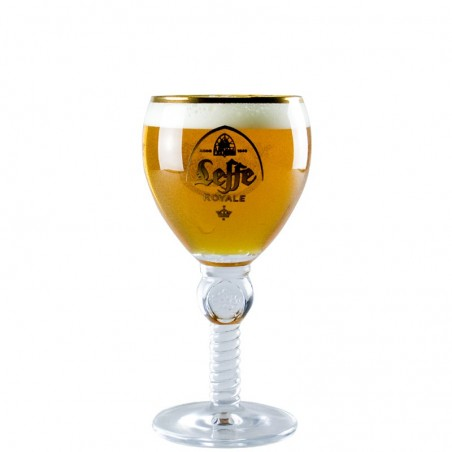 Royal Leffe beer glass 25 cl - Chalice Glass