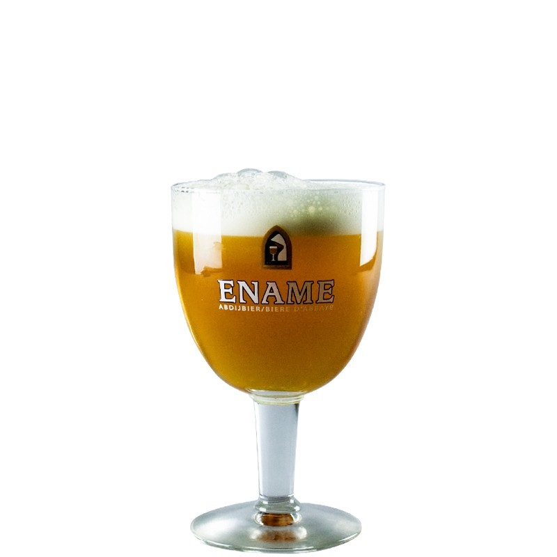 Ename Beer Glass 33cl - Chalice Glass