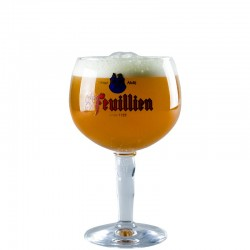 Beer glass Saint Feuillien 33 cl - Chalice glass