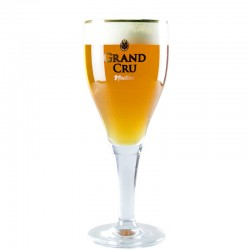 Beer glass Saint Feuillien Grand Cru 33 cl