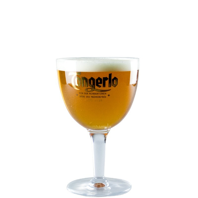 Beer Glass Tongerlo 33 cl - Glass Chalice