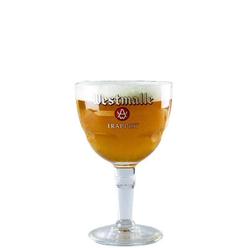Beer glass Westmalle 25 cl - Glass Chalice