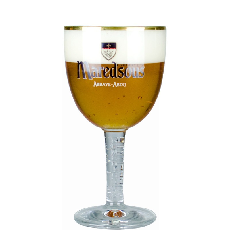 Beer Glass 33cl Maredsous - Chalice Glass