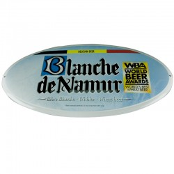 The metal plate of Blanche de Namur