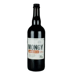 Mongy Ambrée 33 cl - French beer