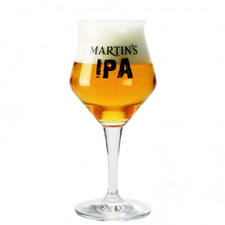 Beer glass Martin's IPA 33 cl