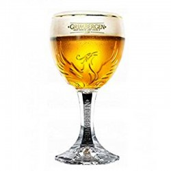 Grimbergen beer glass 33 cl - Glass Chalice