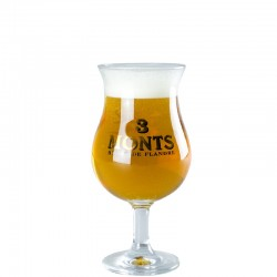 3 Monts beer glass 33cl