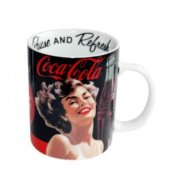Mug Coca Cola Pin Up