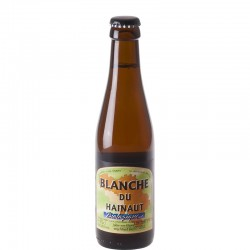 Beer Blanche du Hainaut organic 25 cl - White Beer
