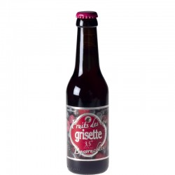 Grisette Fruit of the woods 25 cl - Fruit beer