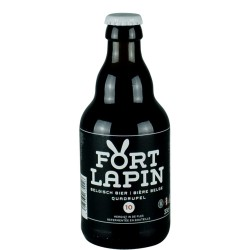 Fort Lapin Quadruple 33 cl - Belgian Beer Brown