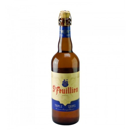 Saint Feuillien Triple 75 cl - Belgian Blond Beer