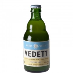 Vedett Extra White 33 cl - Bière Blanche Belge