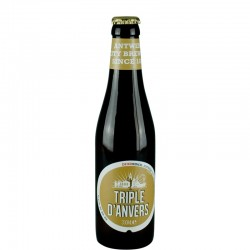 Triple of Antwerp 33 cl - Belgian beer